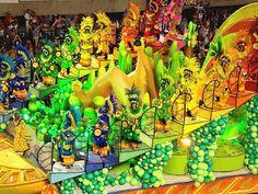 Carnaval in Rio de Janeiro. Let loose before lent.