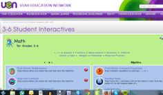 Utha Education Network-Maths interactive activities