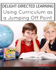 Delight-directed Learning -- Using Curriculum as a Jumping Off Point #homeschool #hstips4moms