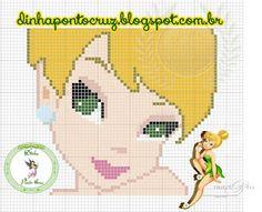 Tinker Bell pattern - Dinha Ponto Cruz