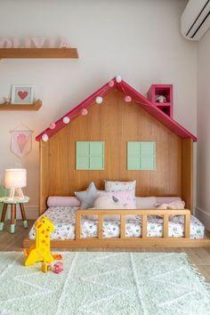Smart Montessori Ideas For Baby Bedroom - Babyzimmer Ideen Baby Bedroom, Baby Room Decor, Girls Bedroom, Bedroom Decor, Bedroom Ideas, Baby Room Design, Girl Bedroom Designs, Big Girl Rooms, Boy Room