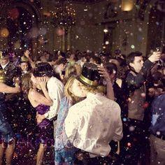 New Years Eve wedding - adorable!