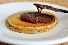 Overnight Oatmeal Cinnamon Pancake