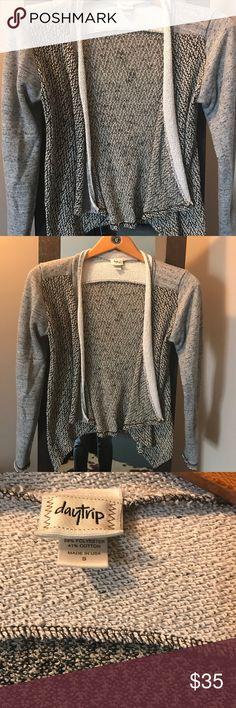 Daytrip terry jacket EUC worn maybe 3x. Daytrip Sweaters Cardigans