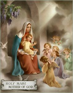 Rosary card-hail mary