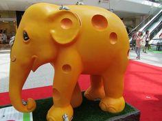 Elephant Parade cheese elephant! love
