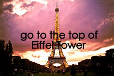 Go To The Top Of Eiffel Tower