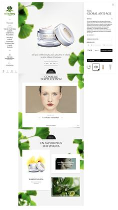 Skincare Website Design 10 Ideas On Pinterest Website Design Web Design Web Design Inspiration