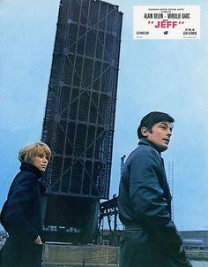 ALAIN DELON MIREILLE DARC JEFF 1969