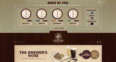 Retro design from Cascade Brewery Co