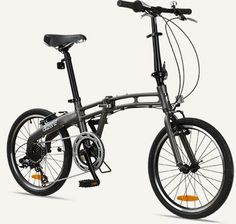 "GOTHAM7 Citizen Bike 20"" 7-Speed Folding Bike with Alloy Frame (Graphite) - http://www.bicyclestoredirect.com/gotham7-citizen-bike-20-7-speed-folding-bike-with-alloy-frame-graphite/"