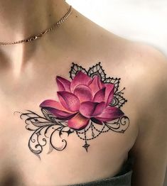 Tattoo Елизавета Бондарук - tattoo's photo In the style New School Flowers , Female (223905)