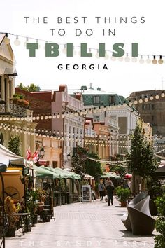 With fabulous hilltop views, lively markets, excellent wine and even better food, the Georgian capital is one of Europe' most exciting cities. These are the best things to do in Tbilisi. Best Places To Travel, Places To Go, Georgia Country, Savannah Georgia, Atlanta Georgia, Hotels, Ultimate Travel, Asia Travel, Where To Go