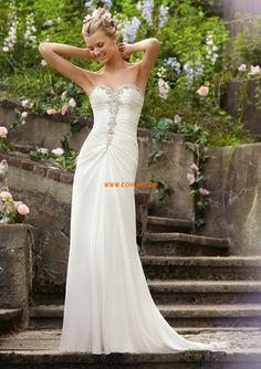 Corte A Gasa Elegante Vestidos de Novia 2014