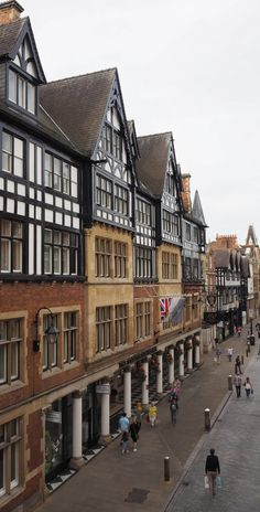 England Travel Inspiration - Exploring Chester in Cheshire; a delightful city in the North of England with a pretty cathedral, old pubs & wobbly buildings! Chester Cathedral, Chester Cheshire, Chester City, Reading City, Cheshire England, Old Pub, Timber House, London England, England Uk