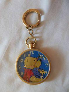 Winnie The Pooh Watch Key Chain