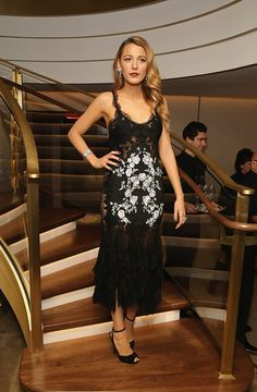 Marchesa dress, Gucci jewelry and shoes - The celebration of Van Cleef & Arpels redesigned New York Fifth Avenue flagship, December 2013