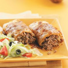 CONTEST WINNING Tacoritos: Combines the delicious flavor of tacos with the heartiness of burritos.