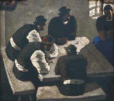 Alfons Walde - Wirtsstube (1938) Painting, Woods, Artworks, Painting Art, Paintings, Drawings
