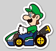 Nintendo Badge Arcade - Luigi
