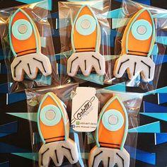 Miles del mañana !  #milesfromtomorrowland #milesfromtomorrowlandparty #milesdelmañana #birthdayboy #birthdayparty #homemade #fondant #cookies #galette #sugarcookies #decoratedcookies