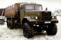 1/87 KRAZ-255B1 Soviet Army Off-Road Truck von SMK