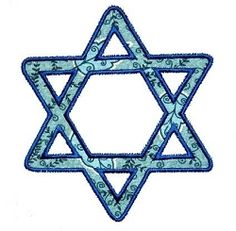 Star of David Applique - 3 Styles, 2 Sizes! | Religious | Machine Embroidery Designs | SWAKembroidery.com KatieBug Embroidery