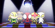 Ultimate Spider-man chibi dance