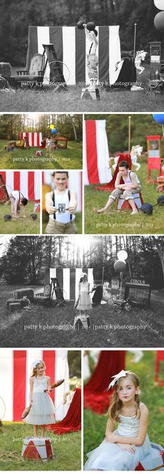 The Circus | Imagination Session | Raeford, NC Child Photographer | Patty K Photography