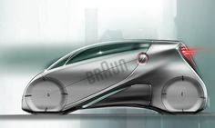 Compact - sportive - cool - the city car inspired by braun brand and his design philosophy