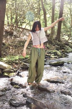 Harem Pants, Khaki Pants, Muscle Tanks, Go Camping, Urban Outfitters, Fitness Models, Knitting, Tees, Cotton