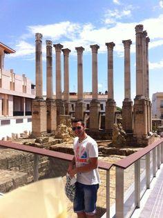Templo Romano (Córdoba) - Paseando por Córdoba es difícil no encontrarte con restos increíbles como estos