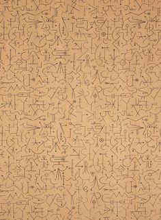 Alvin Lustig; 'Incantation' Textile Design, 1947.