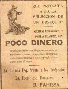 """Anuncio """"Poco Dinero"""""""
