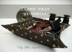 Coins Tray Tutorial - My Little Inspirations