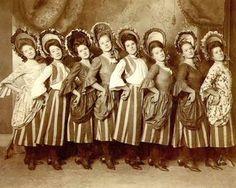 Nameberry Blog-The Floradora Girls: Cora, Dora, Flora, & Nora...I love the name Nora for a girl...