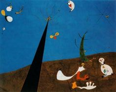 Joan Miro: Dialogue of the Insects - 1925