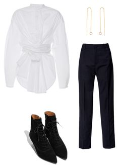"""""""Untitled #26"""" by brontelindley ❤ liked on Polyvore featuring Lanvin and E L L E R Y"""