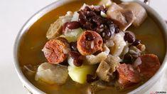 Receita de Sopa da pedra. Descubra como cozinhar Sopa da pedra de maneira prática e deliciosa!