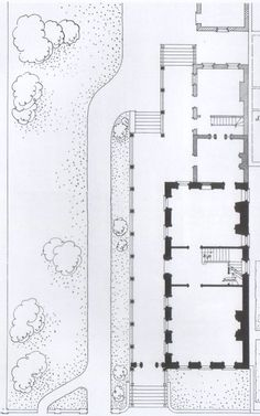 Floor Plans For A Country Estate England Architecture