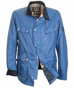 Barbour Mens Enfield Jacket - Cadet Blue