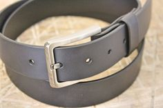 Belt No. 3 leather belt. From the Broundal collection of handmade leather goods designed and produced in Denmark.