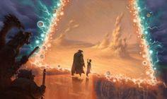 Visual development art for Treasure Planet. by christophe vacher