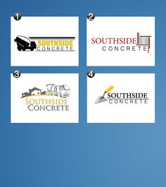 Southside Concrete Logo Samples