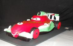 Bolo 3D Francesco Bernoulli dos Cars