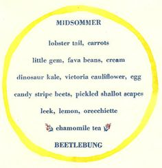 menus - Beetlebung Farm
