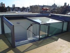 Roof terrace ideas on pinterest roof terraces roof for Como hacer una claraboya
