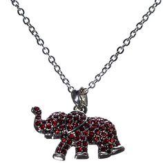 Crimson Elephant Nec...