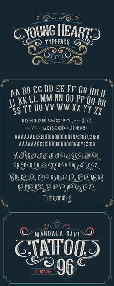 tipografia para carteles moderna