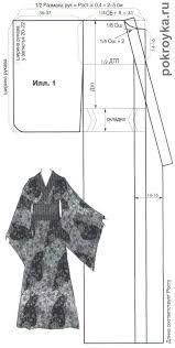 Resultado de imagem para quimono japonês feminino - moldes